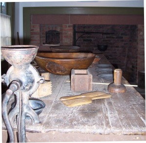 Susan B. Anthony Birthplace Museum kitchen. Photo by Jeanne Gehret