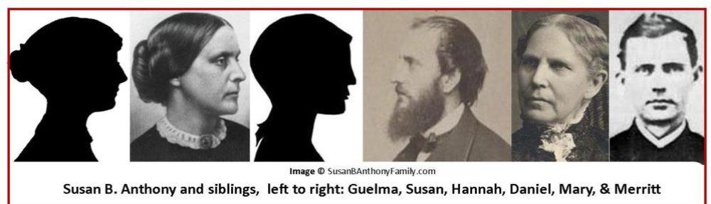 Susan B. Anthony Family